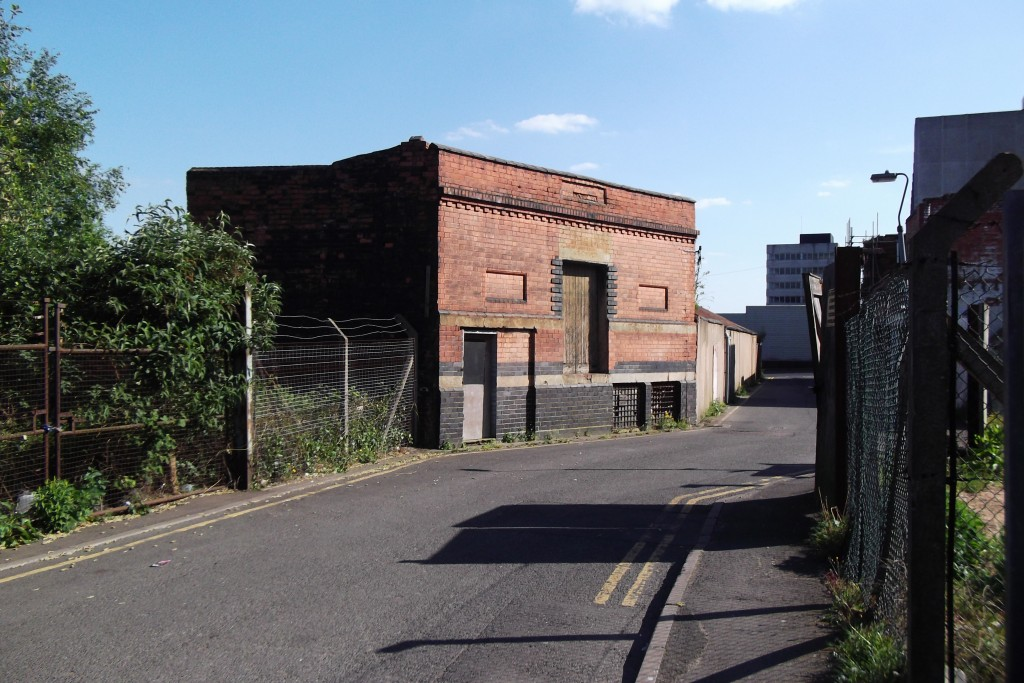 A forlorn building on Henstead Street